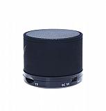 Cortrea Işıklı Siyah Taşınabilir Bluetooth Hoparlör