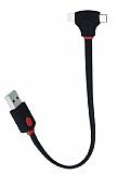Cortrea Lightning ve Micro USB Data Kablosu Bir Arada