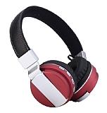 Cortrea Metal Sport Katlanabilir K�rm�z� Bluetooth Kulakl�k