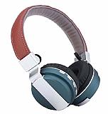 Cortrea Metal Sport Katlanabilir Mavi Bluetooth Kulaklık