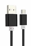 Cortrea Micro USB Dayanıklı Halat Siyah Data Kablosu 1,50m