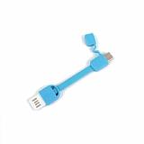 Cortrea Micro USB Mavi Kısa Data Kablosu 9cm