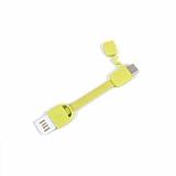 Cortrea Micro USB Sarı Kısa Data Kablosu 9cm