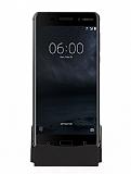 Cortrea Nokia 6 Micro USB Masaüstü Dock Siyah Şarj Aleti