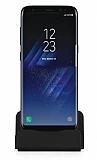 Cortrea Samsung Galaxy S8 Type-C Masaüstü Dock Siyah Şarj Aleti