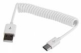 Cortrea Type-C Beyaz Spiral USB Data Kablosu 1m