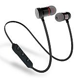 Cortrea Sports Mikrofonlu Siyah Bluetooth Mıknatıslı Kulaklık