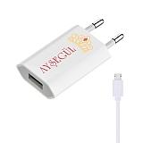 Cortrea Taç Kişiye Özel Micro USB Şarj Aleti