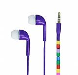 Cortrea Universal Boncuklu Mikrofonlu Mor Kulakiçi Kulaklık