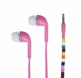 Cortrea Universal Boncuklu Mikrofonlu Açık Pembe Kulakiçi Kulaklık