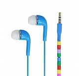 Cortrea Universal Boncuklu Mikrofonlu Mavi Kulakiçi Kulaklık