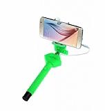 Cortrea Universal Dudaklı Tuşlu Yeşil Selfie Çubuğu