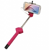 Cortrea Universal Dudaklı Tuşlu Pembe Selfie Çubuğu