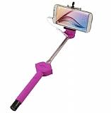 Cortrea Universal Dudaklı Tuşlu Mor Selfie Çubuğu