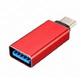 Cortrea USB Type-C OTG D�n��t�r�c� Adapt�r K�rm�z�