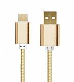 Cortrea USB Type-C K�sa Dayanakl� Gold Data Kablosu