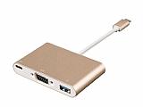 Cortrea USB Type-C VGA ve USB Dönüştürücü Adaptör