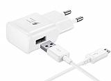 Eiroo Yüksek Kapasiteli Micro USB Beyaz Ev Şarj Aleti