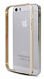 COTEetCI iPhone 5 / 5S Metal Round Bumper Gold K�l�f