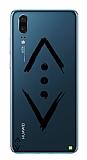 Çukur Lisanslı Huawei P20 Siyah Çukur Logo Kılıf