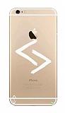 Çukur Lisanslı iPhone 6 / 6S Beyaz Kara Kuzular Logo Kılıf
