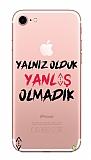 Çukur Lisanslı iPhone 7 / 8 Siyah Çukur Yalnız Kılıf