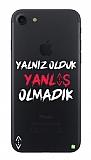 Çukur Lisanslı iPhone 7 / 8 Beyaz Çukur Yalnız Kılıf