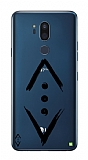 Çukur Lisanslı LG G7 ThinQ Siyah Çukur Logo Kılıf