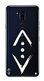 Çukur Lisanslı LG G7 ThinQ Beyaz Çukur Logo Kılıf