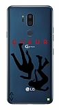 Çukur Lisanslı LG G7 ThinQ Siyah Düşüş Logo Kılıf