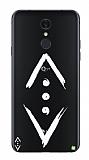 Çukur Lisanslı LG Q7 Plus Beyaz Çukur Logo Kılıf