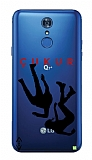 Çukur Lisanslı LG Q7 Plus Siyah Düşüş Logo Kılıf