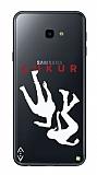 Çukur Lisanslı Samsung Galaxy A7 2017 Beyaz Düşüş Logo Kılıf