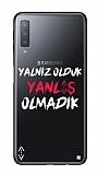 Çukur Lisanslı Samsung Galaxy A7 2018 Beyaz Çukur Yalnız Kılıf