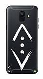 Çukur Lisanslı Samsung Galaxy A8 2018 Beyaz Çukur Logo Kılıf