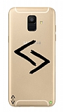 Çukur Lisanslı Samsung Galaxy A8 2018 Siyah Kara Kuzular Logo Kılıf