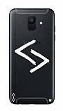 Çukur Lisanslı Samsung Galaxy A8 Plus 2018 Beyaz Kara Kuzular Logo Kılıf