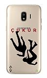 Çukur Lisanslı Samsung Galaxy Grand Prime / Plus Siyah Düşüş Logo Kılıf