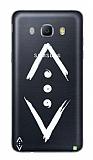Çukur Lisanslı Samsung Galaxy J3 2016 Beyaz Çukur Logo Kılıf
