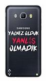 Çukur Lisanslı Samsung Galaxy J3 2016 Beyaz Çukur Yalnız Kılıf
