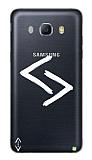 Çukur Lisanslı Samsung Galaxy J3 2016 Beyaz Kara Kuzular Logo Kılıf