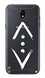 Çukur Lisanslı Samsung Galaxy J3 Pro Beyaz Çukur Logo Kılıf
