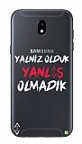 Çukur Lisanslı Samsung Galaxy J3 Pro Beyaz Çukur Yalnız Kılıf