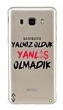 Çukur Lisanslı Samsung Galaxy J5 2016 Siyah Çukur Yalnız Kılıf