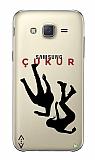 Çukur Lisanslı Samsung Galaxy J5 Siyah Düşüş Logo Kılıf
