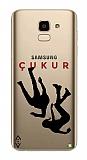 Çukur Lisanslı Samsung Galaxy J6 Siyah Düşüş Logo Kılıf