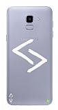Çukur Lisanslı Samsung Galaxy J6 Beyaz Kara Kuzular Logo Kılıf