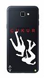 Çukur Lisanslı Samsung Galaxy J7 Prime / Prime 2 Beyaz Düşüş Logo Kılıf