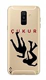 Çukur Lisanslı Samsung Galaxy J8 Siyah Düşüş Logo Kılıf
