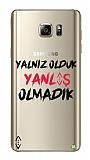 Çukur Lisanslı Samsung Galaxy Note 5 Siyah Çukur Yalnız Kılıf